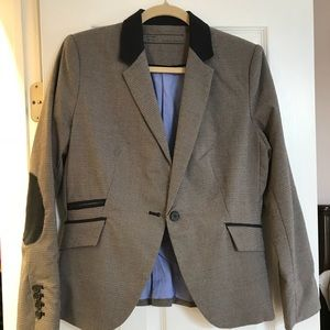 Zara Houndstooth jacket